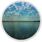 Lake Calhoun 3804 Round Beach Towel