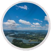 Lake Chatuge Round Beach Towel