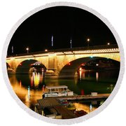 Lake Havasu Round Beach Towel