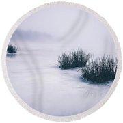 Lake Jean Round Beach Towel