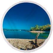 Lake Jocassee Round Beach Towel