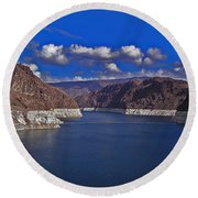 Lake Mead Round Beach Towel