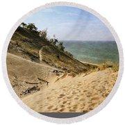 Laketown Dune Panorama Round Beach Towel