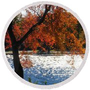Lakewood Round Beach Towel