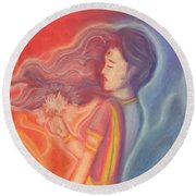 Lakshmi Round Beach Towel