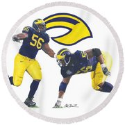 Lamarr Woodley Round Beach Towel