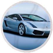 Lamborghini Gallardo 'track Terror' I Round Beach Towel