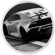 Lamborghini Sesto Elemento - 10 Round Beach Towel
