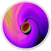 Lamp Round Beach Towel