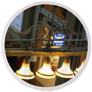 Lamps At The Big C Round Beach Towel