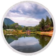 Lampuuk Lake Round Beach Towel