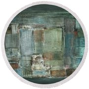 Texture Round Beach Towel