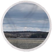 Land Between The Lakes National Recreation Area Round Beach Towel
