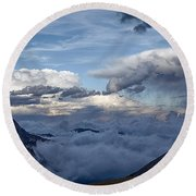 Land Of The Lost Round Beach Towel