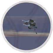 Landing Gear Down Round Beach Towel
