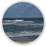 Landscape  #750 Round Beach Towel