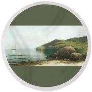 Landscape  Round Beach Towel