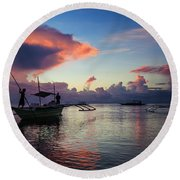 Landscape Series 12 Round Beach Towel