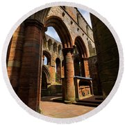 Lanercost Priory Round Beach Towel