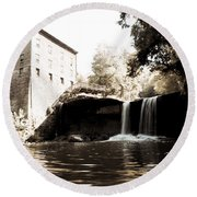 Lantermans Mill Round Beach Towel