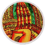 Offering, Lao Collection Round Beach Towel