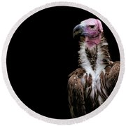 Lappet-faced Vulture - Africa - African Vulture - Nubian Vulture Round Beach Towel