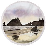 Lapush Round Beach Towel