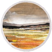 Late Afternoon 27 Round Beach Towel