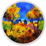 Late Summer 885180 Round Beach Towel