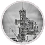 Launch Pad 39a Round Beach Towel