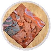 Laundrette - Tile Round Beach Towel