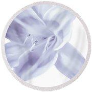 Lavender Tropic Round Beach Towel