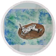 Lazy Days Round Beach Towel