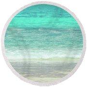 Le Grand Beach 2am-005682 Round Beach Towel