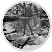 Le Tort Reflection Round Beach Towel
