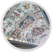 Leading To The Sistine Chapel Round Beach Towel