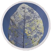 Leaf Round Beach Towel