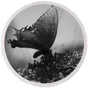 Learn To Fly 001 Round Beach Towel
