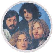 Led Zeppelin Round Beach Towel
