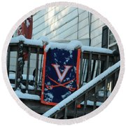 Hometown Series - Left Out Round Beach Towel