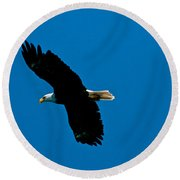 Leisure Flight Round Beach Towel