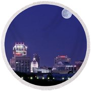 Lengthy Indianapolis Round Beach Towel