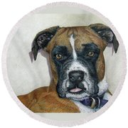 Lennox Round Beach Towel