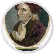 Leonhard Euler, 1707-1783 Round Beach Towel