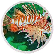 Lester Round Beach Towel