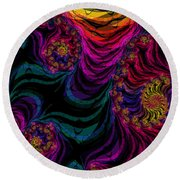 Lets Dance Round Beach Towel