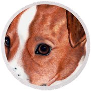 Lewie Round Beach Towel