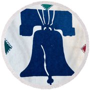 Liberty Bell Round Beach Towel
