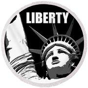 Liberty Classic Work A Round Beach Towel