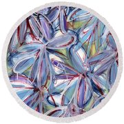 Life Form Two Round Beach Towel